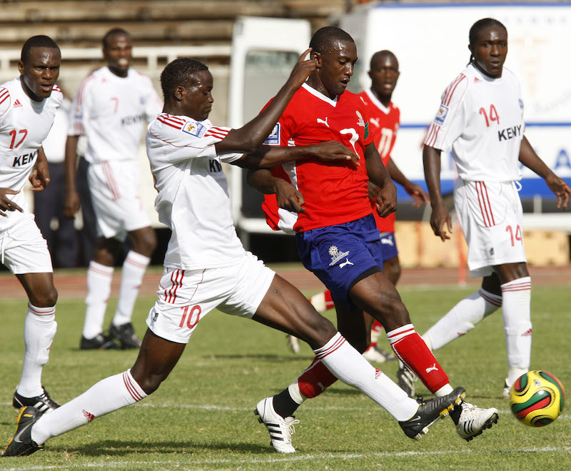 MTNFootball - 080906 - 2010 World Cup Qualifiers  - Moi Stadium - Nairobi -  Kenya