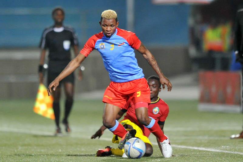 Football - 2016 Cosafa Cup - Quarterfinals - DR Congo v Mozambique - Sam Nujoma Stadium