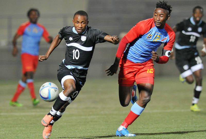 Football - 2016 Cosafa Cup - Semifinal - Botswana v DR Congo - Sam Nujoma Stadium