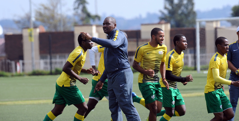 Football - African Youth Championships Qualifier - South Africa U20 Training - Nike Training Centre