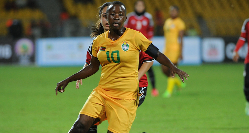 Football - 2016 Women African Cup Of Nations - Zimbabwe v Egypt - Stad de Yaounde
