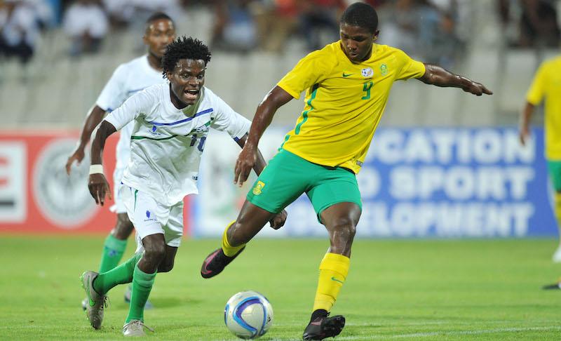 Football - 2016 Cosafa U20 Youth Championship - South Africa v Lesotho - Moruleng Stadium