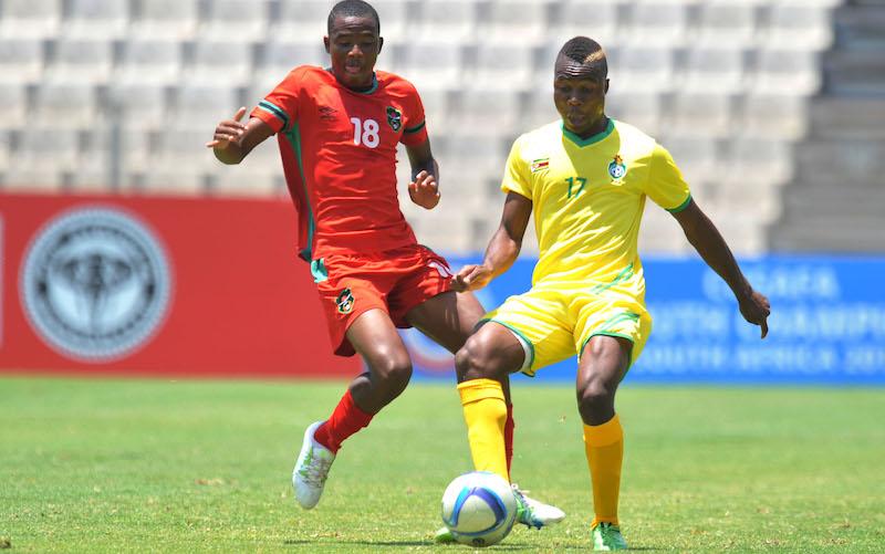 Football - 2016 Cosafa U20 Youth Championship - Malawi v Zimbabwe - Moruleng Stadium