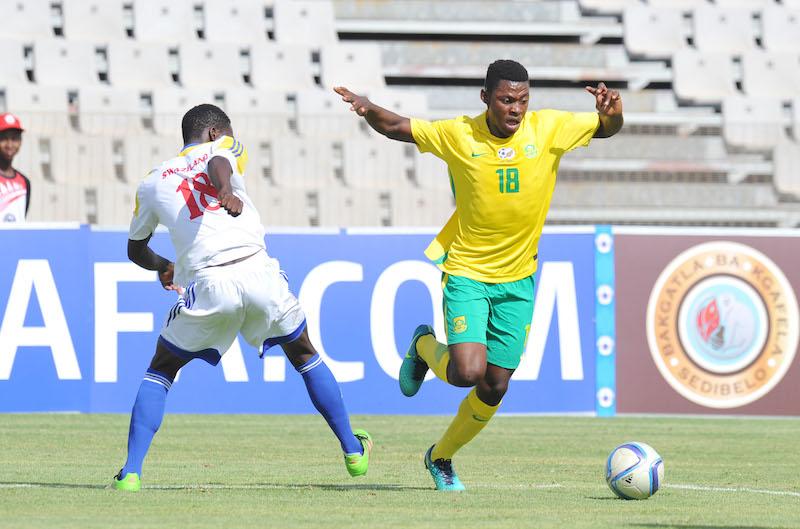 Football - 2016 Cosafa U20 Youth Championship - South Africa v Swaziland - Moruleng Stadium