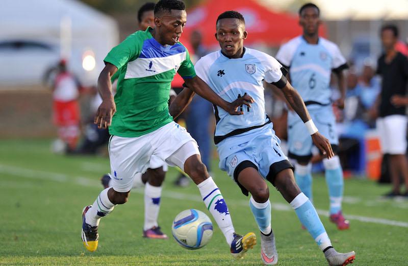 Football - 2016 Cosafa U20 Youth Championship - Lesotho v Botswana - Mogwase Stadium