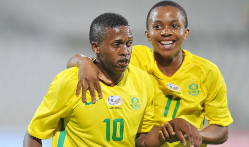 Football - 2016 Cosafa U20 Youth Championship - Semi Final - South Africa v Angola - Moruleng Stadium