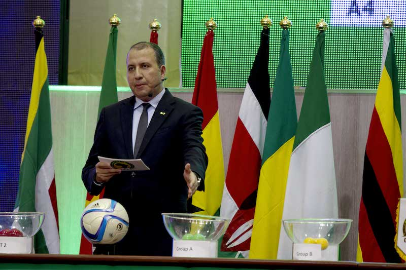 Football - 2016 Africa Women Cup of Nations - Draw - Palais Polyvalent des Sports in Yaounde - Cameroon