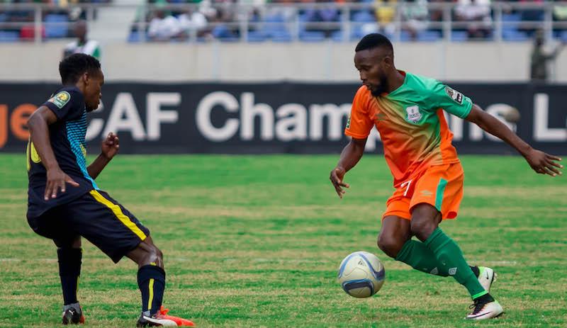 Football - 2016 - CAF Champions League Cup Zesco United v Mamelodi Sundowns - Levy Mwanawasa Stadium - Ndola - Zambia