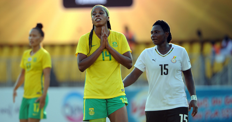Football - 2016 Women African Cup Of Nations - 3rd Place Match - Ghana v South Africa - Yaounde Stadium