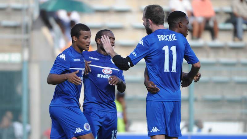 Football - 2017 CAF Confederation Cup - Supersport United v Elgeco - Lucas Moripe Stadium