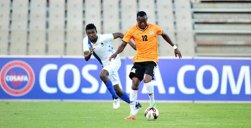 Football - 2017 Cosafa Castle Cup - Semifinal 1- Zambia v Tanzania - Moruleng Stadium - Rustenburg