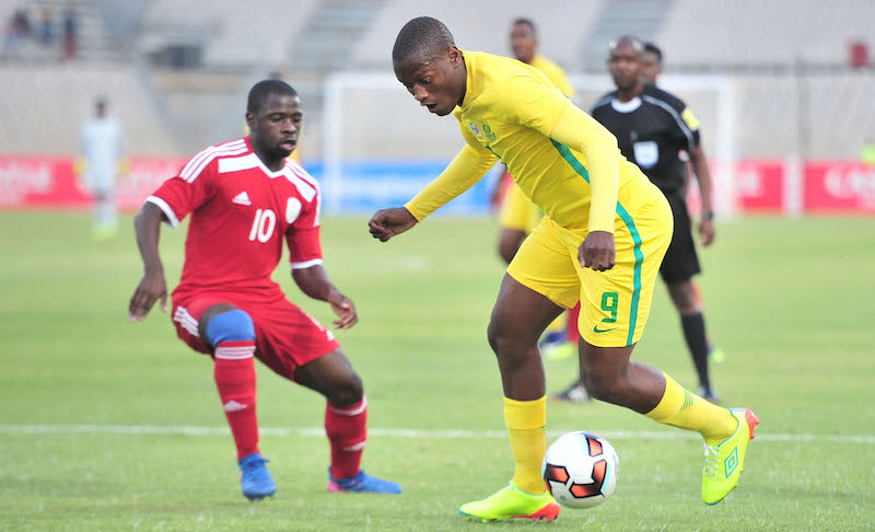 Football - 2017 Cosafa Castle Cup - South Africa v Namibia - Moruleng Stadium - Rustenburg
