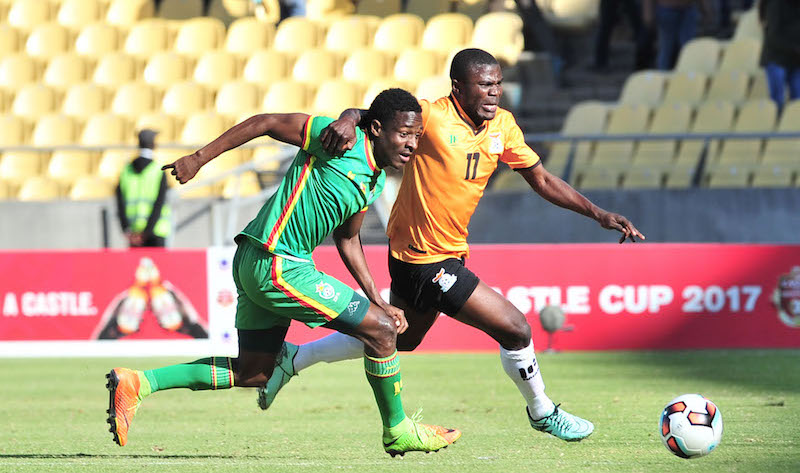 Football - 2017 Cosafa Castle Cup - Final - Zambia v Zimbabwe - Royal Bafokeng Stadium - Rustenburg