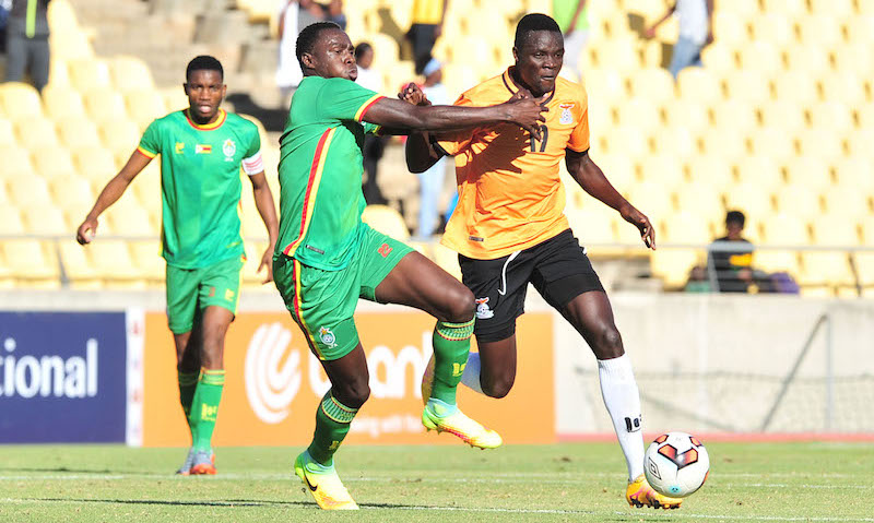 Football - 2017 Cosafa Castle Cup - Final - Zambia v Zimbabwe - Royal Bafokeng Stadium - Rustenburg
