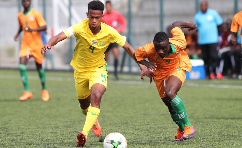 Football - 2017 Cosafa Under 17 Champs - South Africa v Zambia - Port Louis - Mauritius
