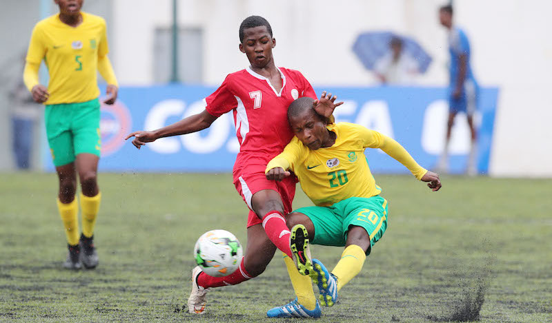 Football - 2017 Cosafa Under 17 Champs - Madagascar v South Africa - Port Louis - Mauritius