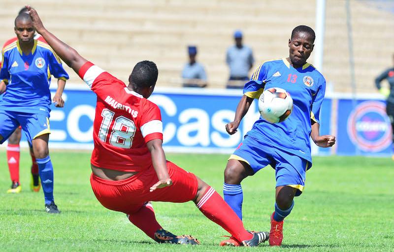 Football - 2017 COSAFA Women's Championship - Mauritius v Swaziland - Luveve Stadium - Bulawayo