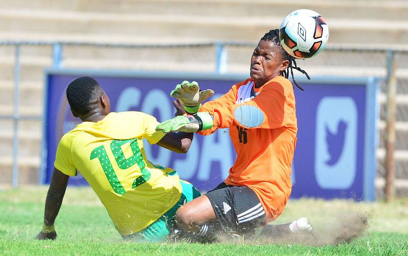 Football - 2017 COSAFA Women's Championship - South Africa v Lesotho - Luveve Stadium - Bulawayo