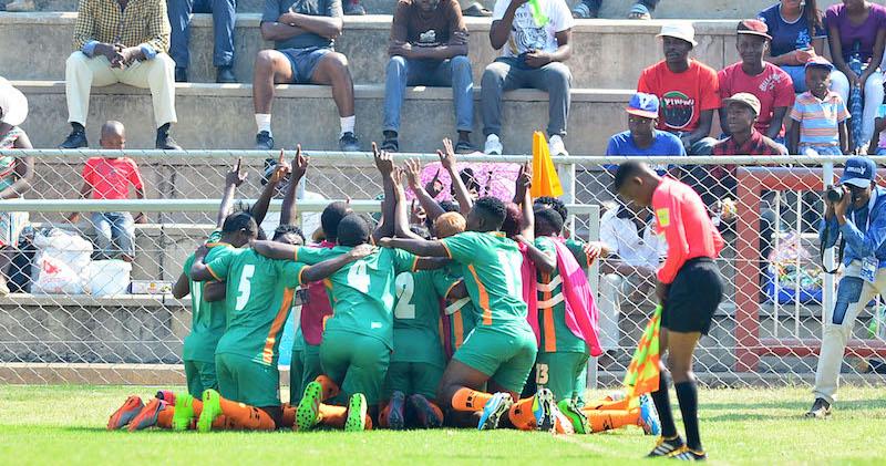 Football - 2017 COSAFA Women's Championship - Zimbabwe v Zambia - Barbourfields Stadium - Bulawayo