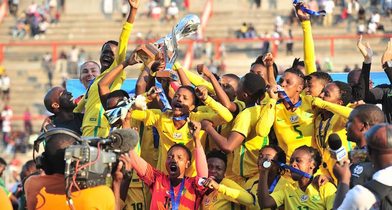 Football - 2017 COSAFA Women's Championship - Final - South Africa v Zimbabwe - Barbourfields Stadium - Bulawayo